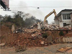 望江县平稳拆除一地灾隐患点房屋易地安置
