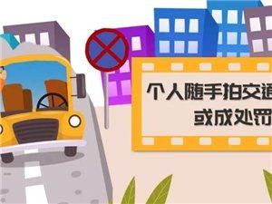 濮阳市民拍照举报交通违法行为可作为处罚证据!