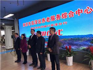 南京市高淳区养老服务综合中心正式启动