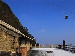 徒步天�_山,�p最美雪景!