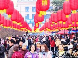 汉中略阳:大红灯笼高高挂 山城年味日渐浓