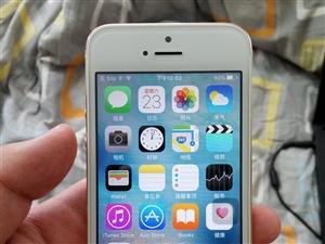 转让女朋友用的国行土豪金苹果5S九成新手机,带指纹