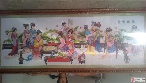 琴棋書畫長3米寬1.4米