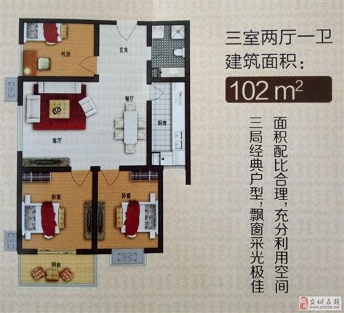 华鑫3室2厅102