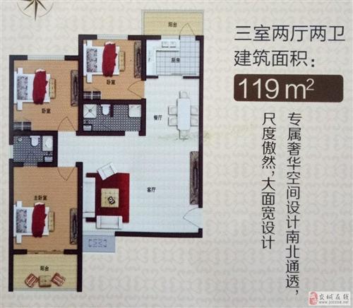 华鑫3室2厅119