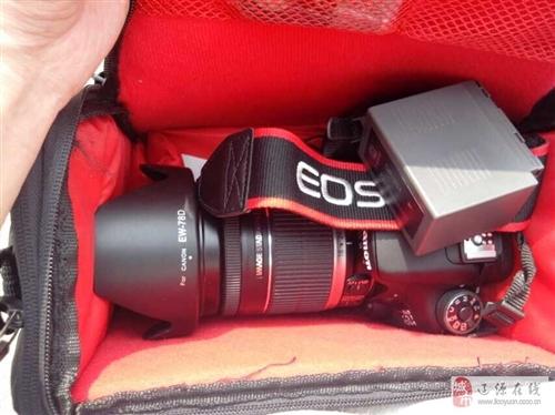 出售70D单反相机18-200镜头