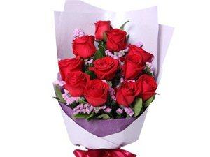 玫瑰花,手捧花速递,同城配送