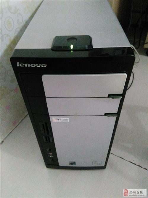 联想电脑一套,主机14年升级,19寸显示器