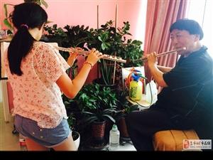 宋老师是省级文艺团体首席长笛一对一教长笛竹笛