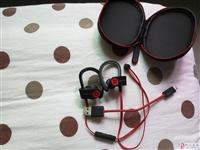 转让魔音蓝牙运动耳机,喜欢音乐音质的乐迷来。