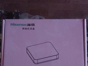全新一套,电信海信网络机顶盒