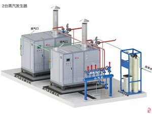 大功率免监检燃油燃气蒸汽锅炉
