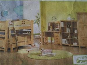 出售一批家具包括儿童床单人床衣柜写字台等