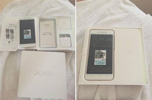 瑞金市出售一台vivo X6s全新未激活手机
