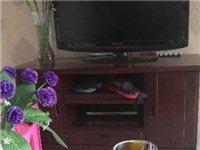 九成新实木电视柜对外出售