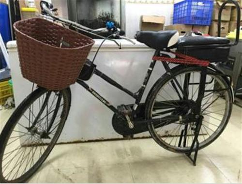 轉讓一部自行車改裝電動車,48V鋰電池,沒用過