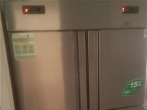 出售在用森星宝4门冰箱