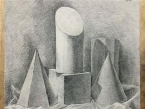 呼和浩特內藝繪本畫室  素描油畫水粉水彩雕塑彩鉛快