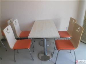 快餐店桌椅出售