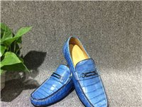 鱷魚全肚皮五金豆豆鞋完美展示意大利做工更服帖