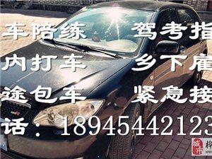 专业轿车陪练、代驾、长短途包车