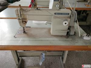 因公司产品换代升级,低价处理一批缝纫机设备