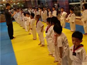 渝虎國際跆拳道連鎖大足館