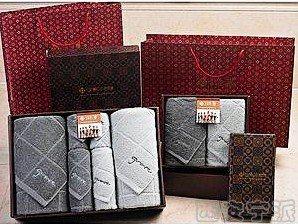 西安毛巾套盒 潔麗雅 2016新款毛巾禮盒套裝