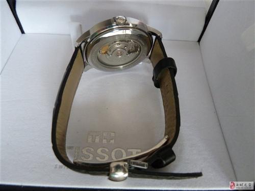 九成新专柜正品天梭机械男手表