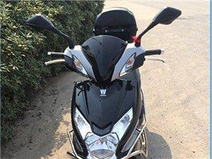 豪爵125大踏板摩托车转让