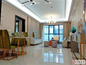 珠海市区富华里玖洲道3房2厅智能化看圆明新园全景