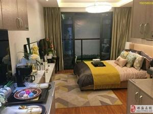 一成首付6万买湖心路奥园香海美景、70年产权精装单身公寓