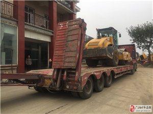 低價調度出租13米六橋拖車拖各種挖機壓路機