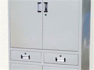 低价转让钢制四门两抽文件柜
