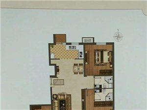云禧郡电梯洋房一梯两户三室跨厅通厅155万赠送车位
