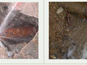 贛州市定南縣靜聽快捷自來水管道漏水檢測