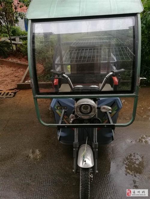现出售一辆绿源三轮电动车,只用4个月,车况较好分享