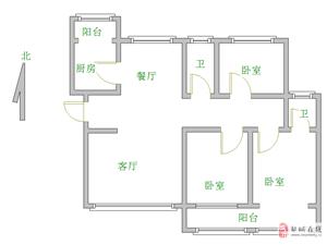 世纪国3室3厅2卫118万,中间楼层南北通透。有钥