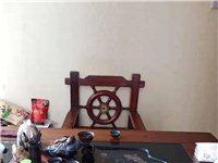 95新的船木办公茶桌
