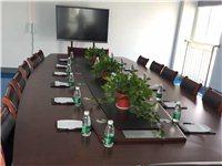 折價轉讓成套4.8m品牌會議室桌椅,幾乎全新