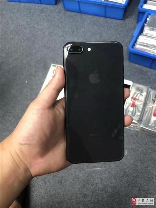 出售蘋果8plus256g三網通黑色靚機全原