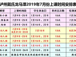 成都戴氏教育龍馬潭總校,暑假銜接班規劃班。