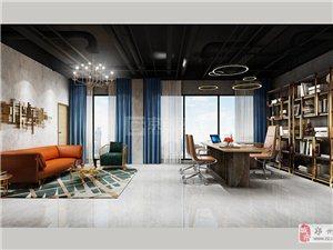 簡約風格辦公室裝修設計,專業裝修設計公司京創裝飾