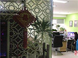 陽光大廈140平米精裝修辦公房全套辦公家具