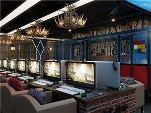 重慶永川網吧網咖裝修設計找貳春室內設計怎么樣