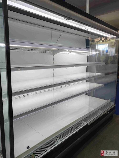 河南洛阳水果饮料柜风幕柜多少钱一米