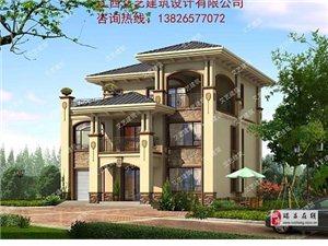 瑞昌農村自建房設計,瑞昌別墅設計,瑞昌小洋樓設計