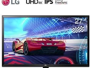 LG27英寸4K超高清IPS硬屏液晶显示器