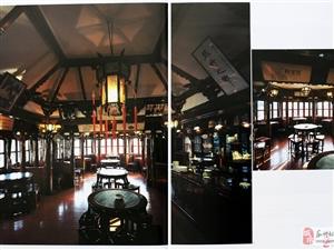 复古式茶楼、餐厅实装照片