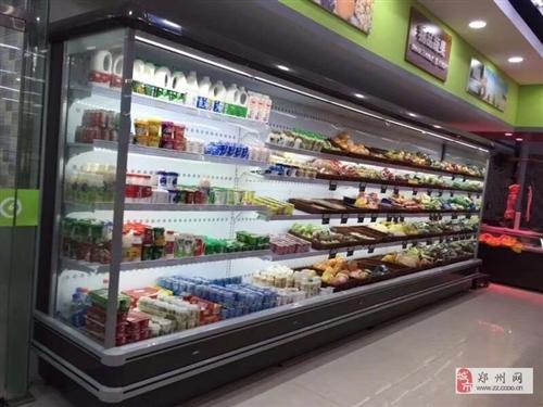 漯河酸奶展示风幕柜定做一米多少钱
